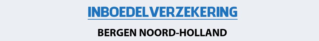 inboedelverzekering-bergen-noord-holland