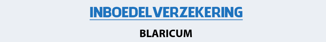 inboedelverzekering-blaricum