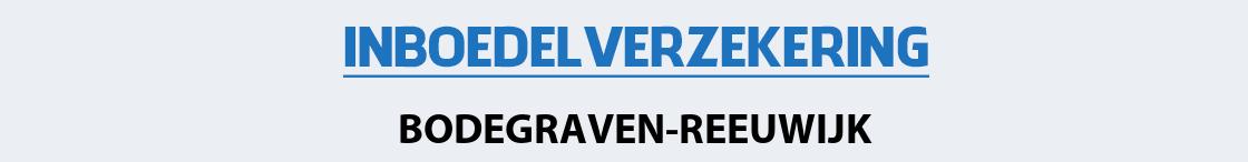 inboedelverzekering-bodegraven-reeuwijk