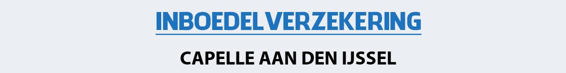 inboedelverzekering-capelle-aan-den-ijssel