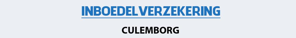 inboedelverzekering-culemborg