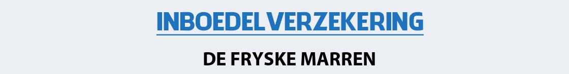 inboedelverzekering-de-fryske-marren
