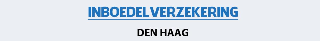 inboedelverzekering-den-haag