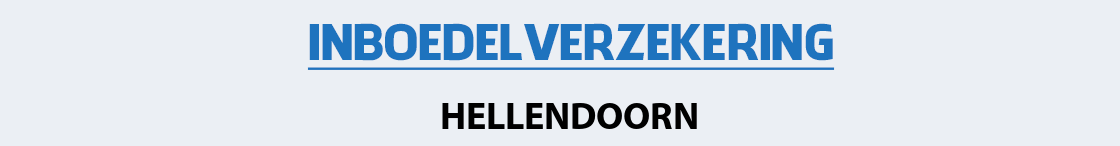 inboedelverzekering-hellendoorn