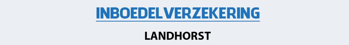 inboedelverzekering-landhorst