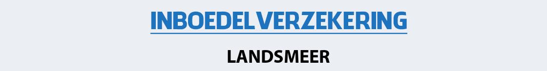 inboedelverzekering-landsmeer