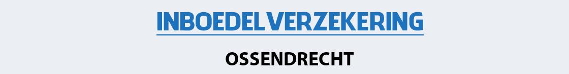 inboedelverzekering-ossendrecht