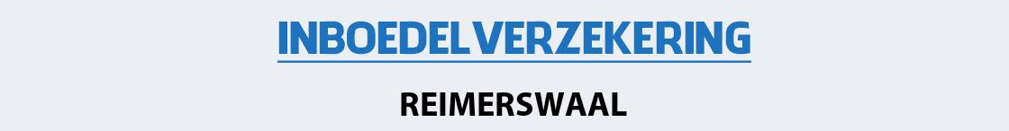 inboedelverzekering-reimerswaal