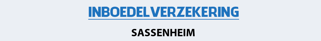 inboedelverzekering-sassenheim