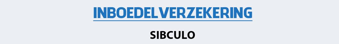 inboedelverzekering-sibculo