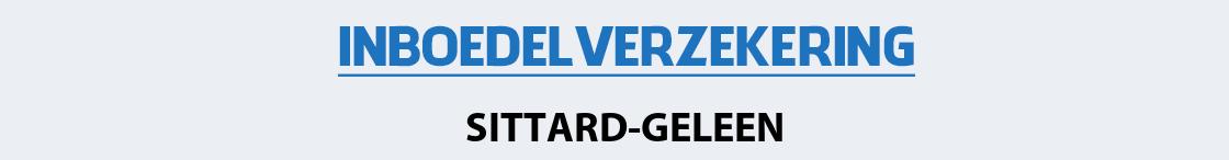 inboedelverzekering-sittard-geleen