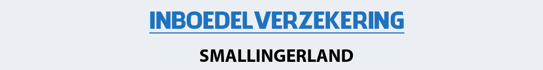 inboedelverzekering-smallingerland