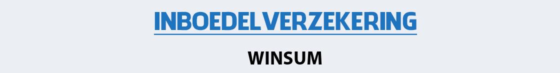 inboedelverzekering-winsum