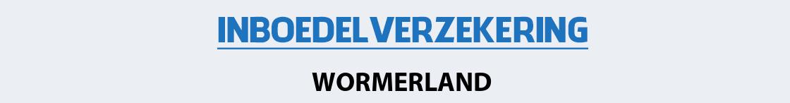 inboedelverzekering-wormerland
